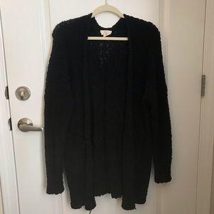Black cardigan!